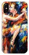 Tango Of Love   IPhone Case