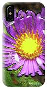 Tansyleaf Aster IPhone Case