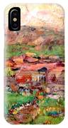 Taos By The River IPhone Case