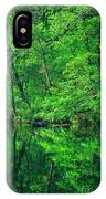 Tar River Reflection IPhone Case