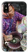 Tarahumara Basket Vendor IPhone Case