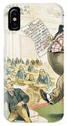 Tariff Lobbyist, 1897 IPhone Case
