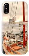 Tarpon Springs Harbor IPhone Case