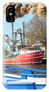Tarpon Springs Shrimp Boat IPhone Case