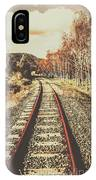 Tasmanian Country Tracks IPhone Case