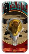 Tatanka American Bison IPhone Case