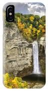 Taughannock Falls Autumn IPhone Case