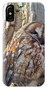 Tawny Owls IPhone Case