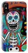 Te Amo Painter Dia De Los Muertos IPhone Case