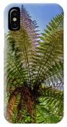 Te Puia Palm Tree IPhone Case