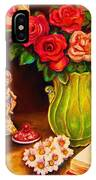 Teacup And Roses IPhone Case