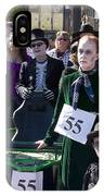 Team 55 At Emma Crawford Coffin Races In Manitou Springs Colorado IPhone Case