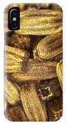 Teasel Seeds IPhone Case