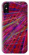 Technicolor Pick Up Stix IPhone Case