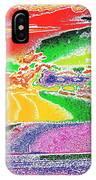 Technicolor Sunset IPhone Case