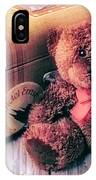 Teddy Bear And Suitcase IPhone Case