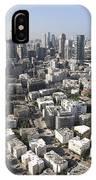Tel Aviv And Ramat Gan Israel IPhone Case