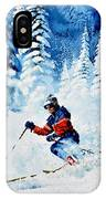 Telemark Trails IPhone Case