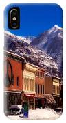Telluride For The Holiday IPhone Case