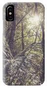 Temperate Rainforest Canopy IPhone Case