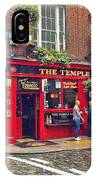 Temple Bar 0554 IPhone Case