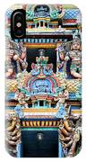 Temple Facade Chennai India IPhone Case