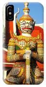 Temple Guardian IPhone Case