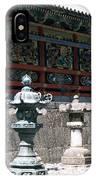 Temple Lanterns  IPhone Case