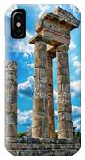 Temple Of Apollon IPhone Case