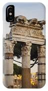 Temple Of Castor And Pollux IPhone Case