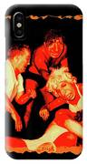 Temple Of Violence IPhone Case