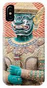 Temple Warrior IPhone Case