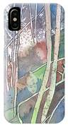 Ten Faces In The Mystical Forest IPhone Case