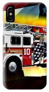Ten Truck Fdny IPhone Case