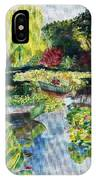 Tending The Pond IPhone Case