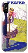 Tenerife, Canary Islands, Couple In Traditional Costumes IPhone Case