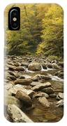 Tennessee Autumn Stream 6059 IPhone Case