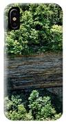 Tennessee River Gorge And Waterfall Panorama IPhone Case