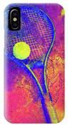 Tennis Art Version 1 IPhone Case