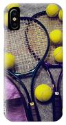 Tennis Still Life 2 IPhone Case