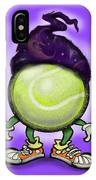 Tennis Wiz IPhone Case