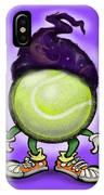 Tennis Wiz IPhone Case