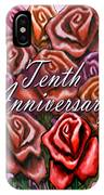 Tenth Anniversary IPhone Case