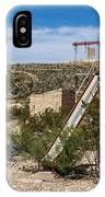 Terlingua Ghost Town #5 IPhone Case