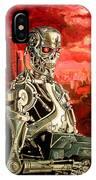 Terminator T800 IPhone Case