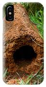 Termite Mound In Brazil IPhone Case