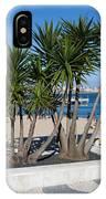 Terrace Promenade At Ribeira Beach In Cascais IPhone Case