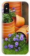 Terracotta Flower Pots IPhone Case