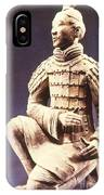 Terracotta Soldier IPhone Case