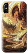 Terrestrial Flames Abstract  IPhone Case